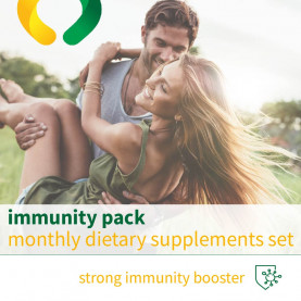 Immunity pack - monthly dietary supplements set